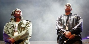 Nas & Jay Z perform together