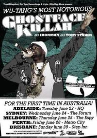 Enter the Wu: Ghostface Killah hits Australia!!