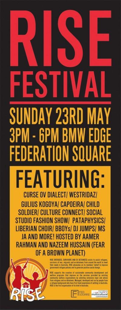 Rise Festival - Melbourne Sunday